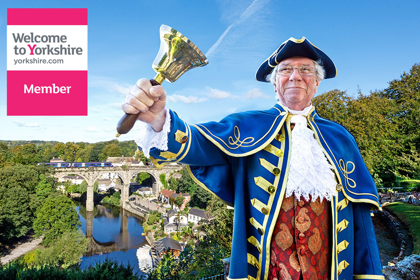 Knaresborough – a proud member of Welcome to Yorkshire